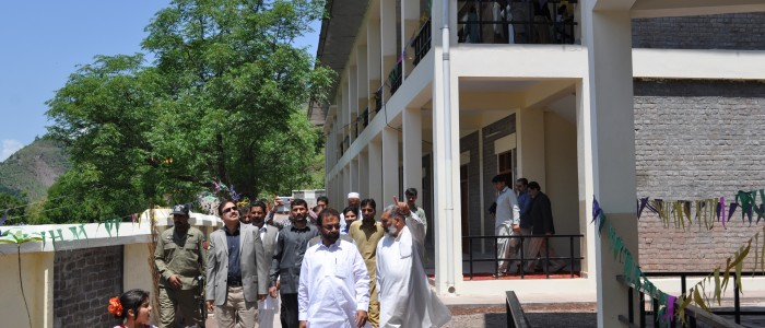 Inauguration of GBHS Langla