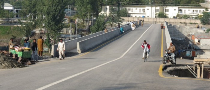 Jalalabad Bridge Muzaffarabad Completed.