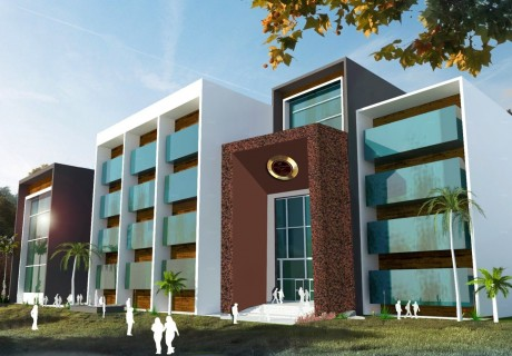 Design and Construction Supervision of Hostel-12 for 300 Students at GIK Institute